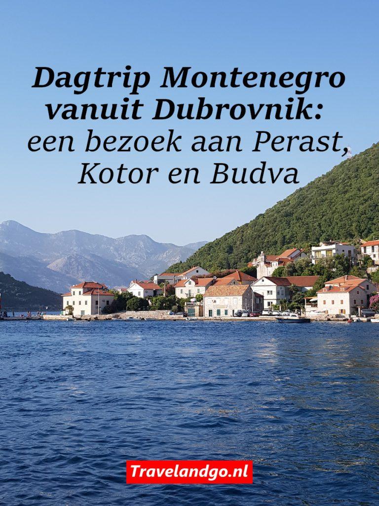 Pinterest: Dagtrip Montenegro vanuit Dubrovnik: een bezoek aan Perast, Kotor en Budva