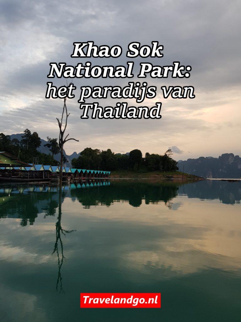 Pinterest: Khao Sok National Park: het paradijs van Thailand