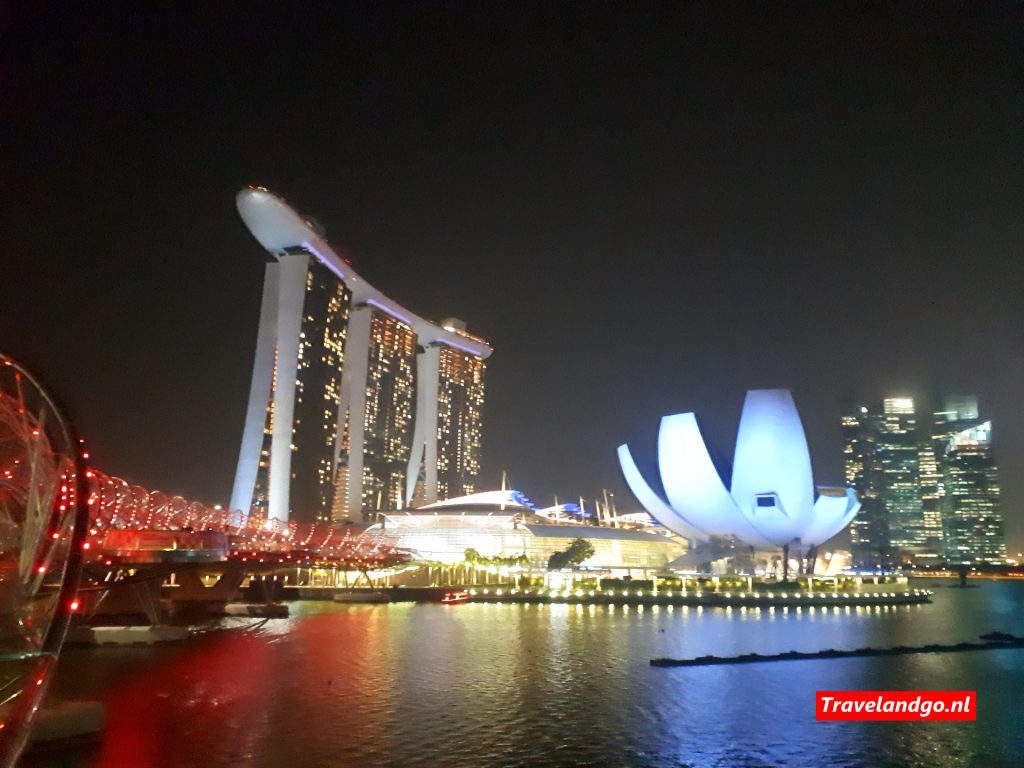 Singapore: uitzicht op Marina Bay