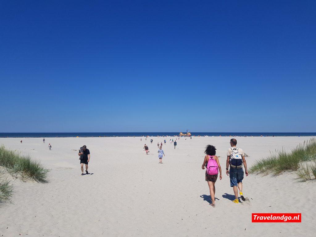 Breedste strand van Europa - Schiermonnikoog