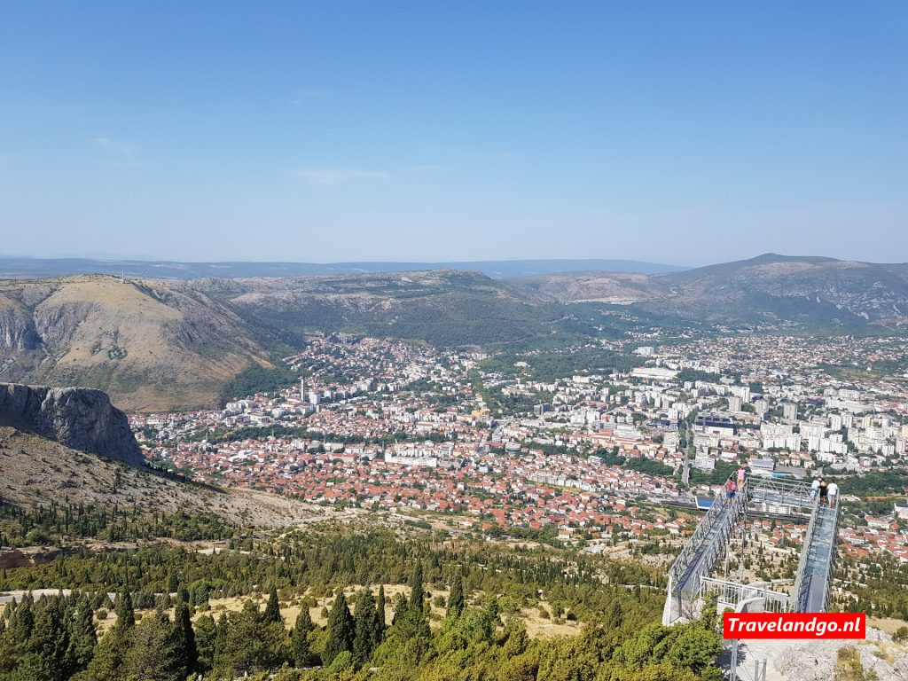 Mostar - Viewpoint Fortica